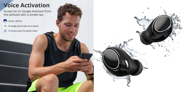 Auriculares inalámbricos Tronsmart Onyx Neo Bluetooth APTX TWS chollo en AliExpress