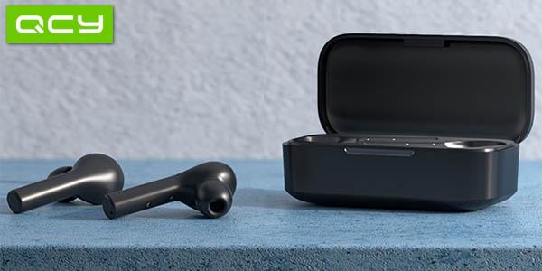 Auriculares inalámbricos QCY T5 TWS con estuche de carga