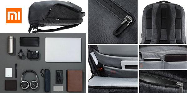 Mochila Xiaomi de 26 l para portátil de color negro rebajada