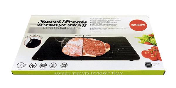 Bandeja de descongelación rápida Sweet Treats para carne y pescado barata en AliExpress