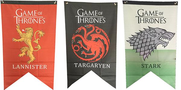 Banderas de las casas de Juego de Tronos baratas