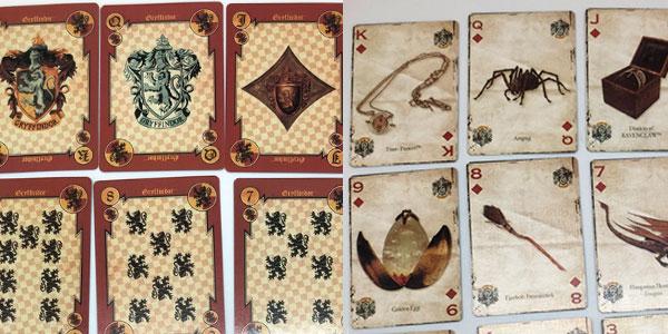 Baraja de cartas de póker de Harry Potter barata