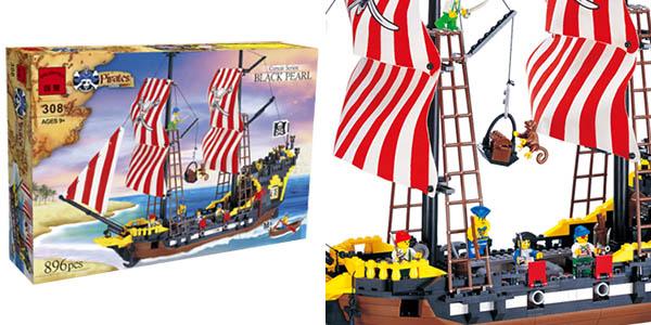 Barco pirata estilo LEGO barato