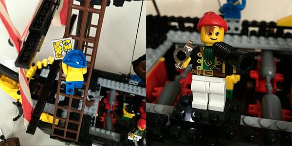 Barco pirata estilo LEGO en AliExpress