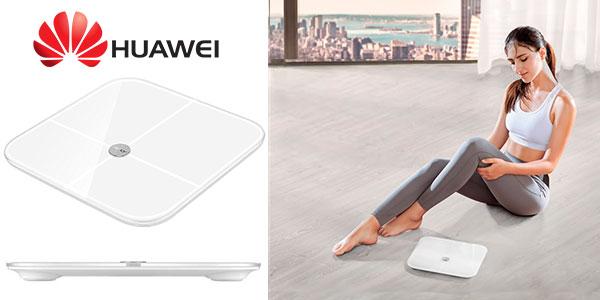 Báscula inteligente Huawei Honor AH100 LED con Bluetooth en oferta