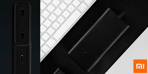 Batería externa Xiaomi Mi Power Bank 3 con USB-C de 20.000 mAh barata