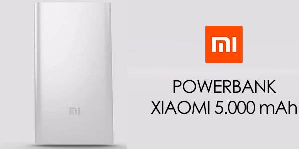 Batería portátil Xiaomi 5.000 mAh