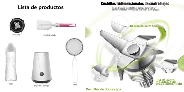 Batidora de vaso TINTON LIFE con envío desde España chollo en AliExpress Plaza