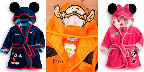 Batín infantil Disney con capucha barato