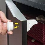 Pack de 4 cierres de seguridad magnéticos para cajones o armarios
