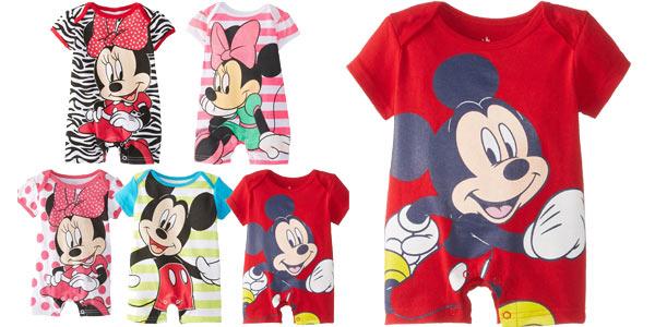 Pelele unisex para bebés de Mickey o Minnie barato en AliExpress