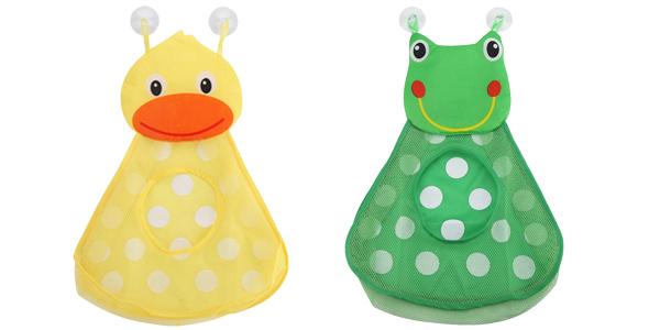 Bolsa de malla para juguetes para la bañera barata en AliExpress