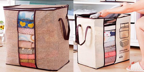 Bolsa de almacenamiento de ropa de cama y mantas barata