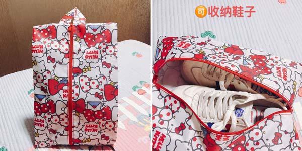 Bolsa para zapatos estampada barata en AliExpress