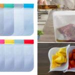 Bolsa para alimentos reutilizable barata en AliExpress