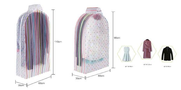 Bolsas de almacenamiento de ropa para armario en varios modelos