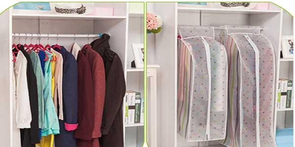 Bolsas de almacenamiento de ropa para armario baratas en AliExpress