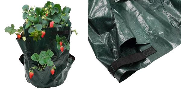 Bolsa para plantar fresas en casa barata en Banggood