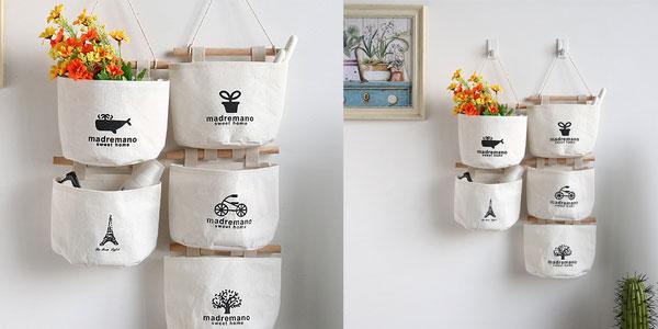 Bolsas de organización FGHGF de algodón para hogar chollazo en AliExpress