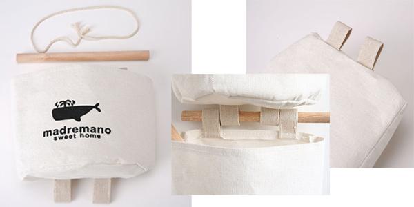 Bolsas de organización FGHGF de algodón para hogar chollo en AliExpress
