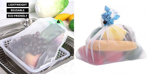 Pack de 15 bolsas para compra reutilizables barato