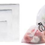 Pack de 3 bolsas para compra reutilizables baratas en AliExpress
