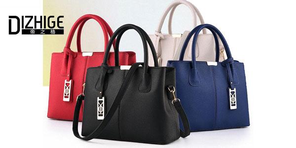 Bolso Dizhige para mujer de cuero sintético en varios colores