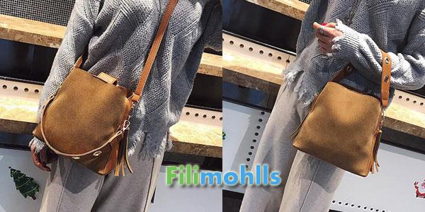 Bolso cuero sintético para mujer Filimohlls chollazo en AliExpress