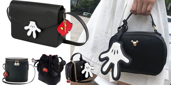 Bolsos de Mickey de varios modelos baratos en AliExpress