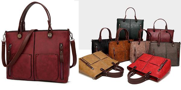 Bolso vintage Tinkin en varios colores para mujer en oferta