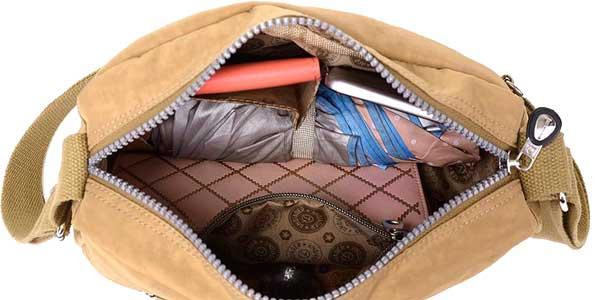 Bolso bandolera Jinquiaoer para mujer de nylon impermeable barato en AliExpress