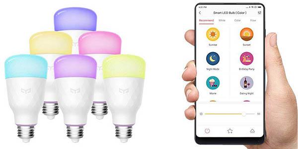 Bombilla LED Xiaomi Yeelight RGBW en Banggood