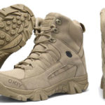 Botas militares Okiy para hombre baratas en AliExpress