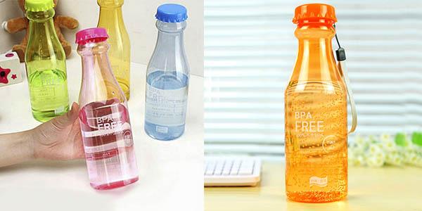 botella de plastico libre bpa hermetica y barata