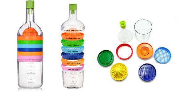 Botella multiusos Honana 8-en-1 accesorio de cocina