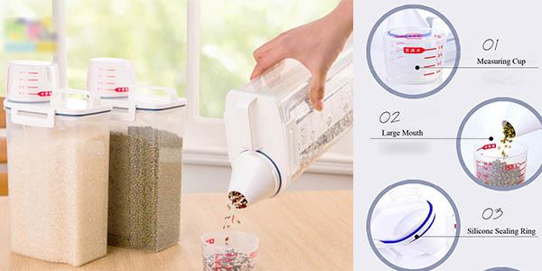 botes de plastico baratos y funcionales para guardar pasta con tapon medidor y boquilla