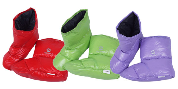 Zapatillas de estar por casa AEGISMAX con relleno de plumón chollo en AliExpress