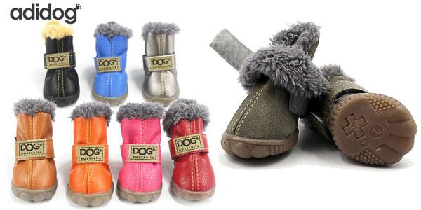 Botitas de invierno Adidogs para perros baratas en AliExpress