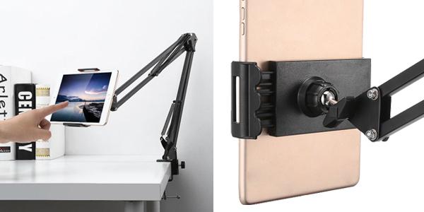 Soporte-brazo de metal articulado para tablet barato