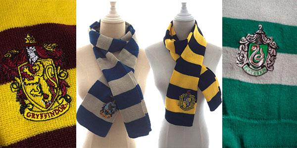 Bufandas de Harry Potter muy baratas