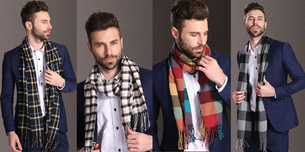 Selección de bufandas para hombre baratas en AliExpress