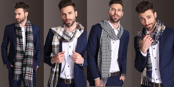 Selección de bufandas para hombre chollo en AliExpress