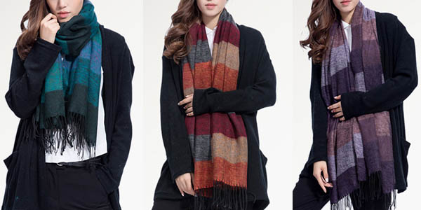 Bufanda para mujer en varios colores