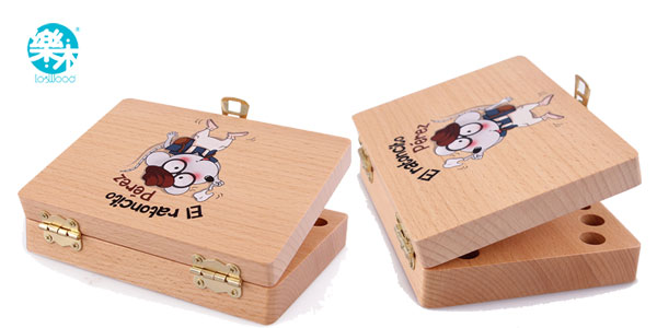 Caja de madera del Ratoncito Pérez chollo en Aliexpress