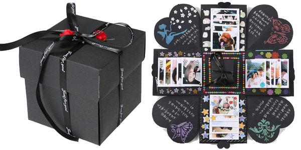 Caja Sorpresa de recuerdos personalizable DIY (Hazlo tú mismo) barata en TomTop