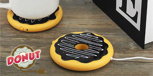 """Calentador """"Donut"""" por USB barato"""