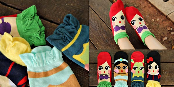 Calcetines de princesas Disney chollo en Amazon