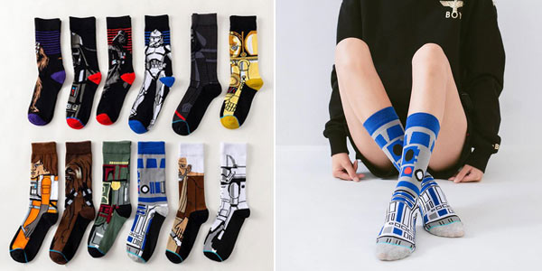 Calcetines altos unisex Star Wars baratos en AliExpress
