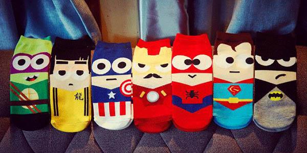 Calcetines algodón Superhéroes