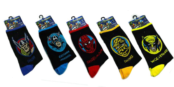Calcetines Marvel chollo en AliExpress